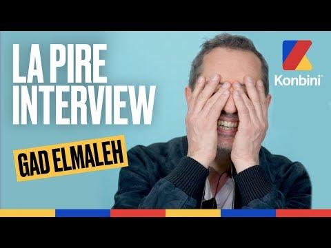 La pire interview de Gad Elmaleh