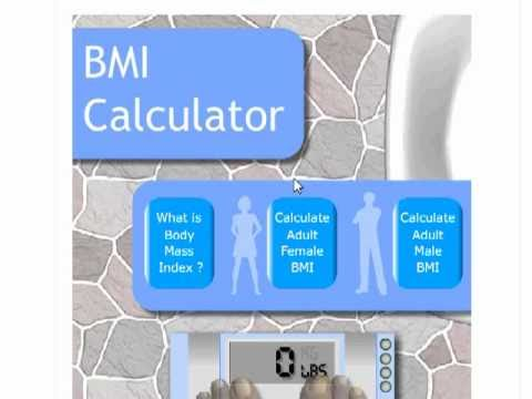 How to Calculate your BMI (Body Mass Index) with a BMI Calculator