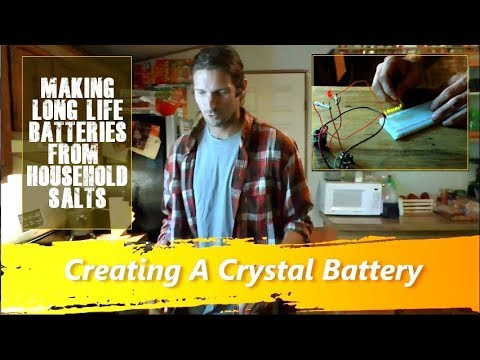 Creating A Crystal Battery