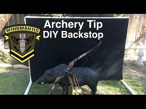 Archery Tip -  DIY BackStop