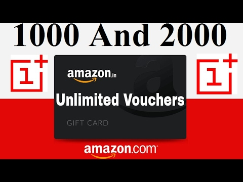 HowTo Win Free Rs.1000 & 2000 Unlimited Amazon Gift Cards From OnePlus Contest