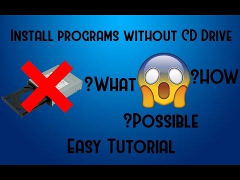 [HOW-TO] [WINDOWS] Install W/O CD Drive