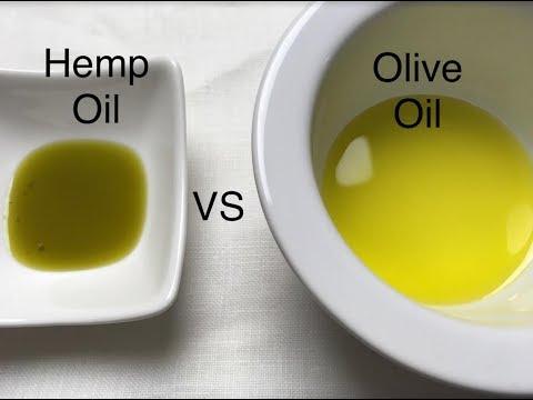 Hemp Oil vs Olive Oil | Health Benefits