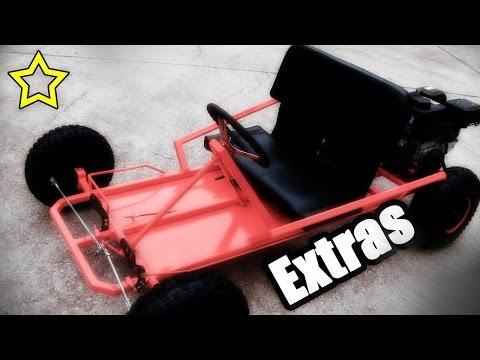 Go Kart Side Restraints and Foot Rest