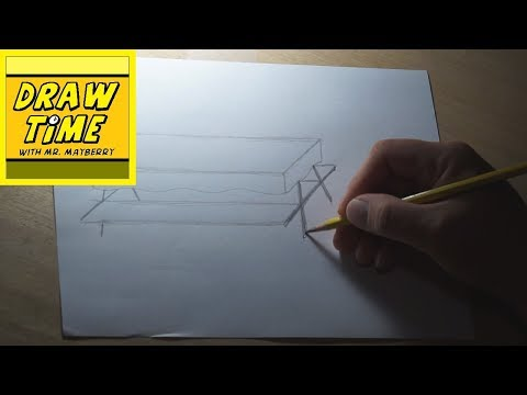 How to Draw a Picnic Table