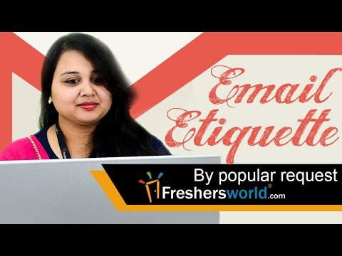 Email Etiquette – Ways to impress recruiters,#Interviewtips,Formal email writing