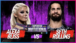 ALEXA BLISS vs. SETH ROLLINS: Rd. 1 - WWE 2K18 Superstar Invitational Tournament
