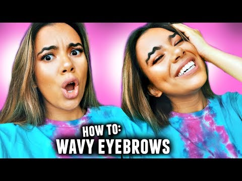 WAVY EYEBROW TREND EXPOSED & how they really do it