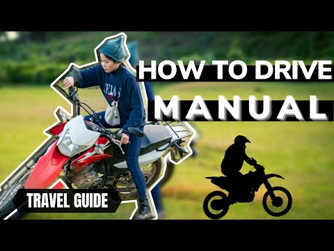 How to drive a manual motorbike in Vietnam.