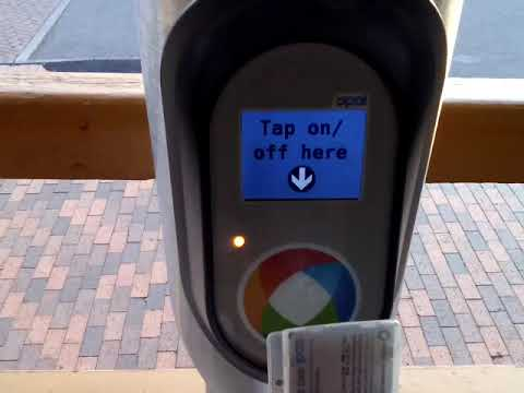 Opal Machine Card Reader. RailCorp's $200 to $500 fine Scam