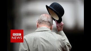 Prince Philip carries out final official engagement - BBC News