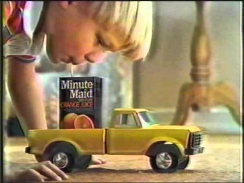 1984 Minute Maid 100% juice in a box Commercial
