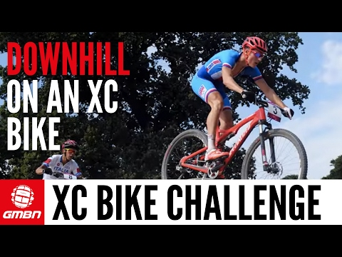 Are XC Riders Slow On Downhills? A Downhiller Takes On The XC Bike Descending Challenge