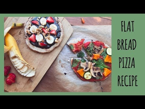 HEALTHY HOMEMADE FLATBREAD PIZZA // Foodie Friday's