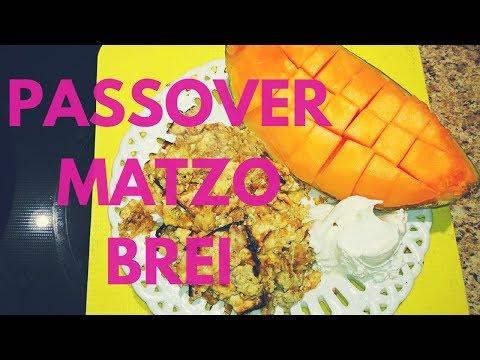 Matzo Brei : Cinnamon Sugar Matzo Brei for Passover - Recipe & video