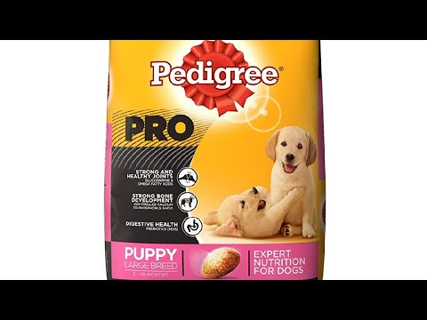 Pedigree pro puppy large breed review (9357052000)