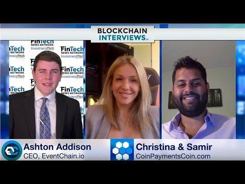 Blockchain Interviews - Christina and Samir from CoinPaymentsCoin.com