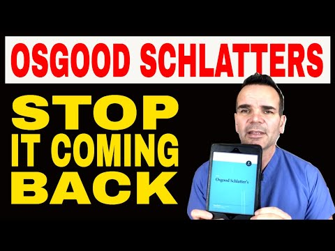 How to treat stubborn or recurring Osgood Schlatters