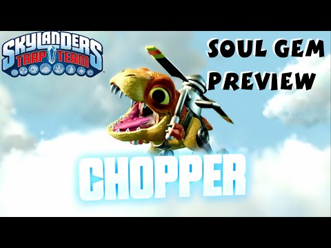 Chopper Soul Gem Preview and Location - Skylanders Trap Team 1080P