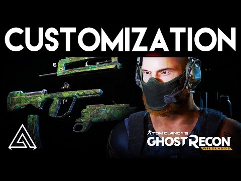Ghost Recon Wildlands Weapon Gunsmith & Character Customization