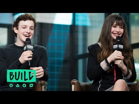 Malina Weissman & Louis Hynes On Netflix's