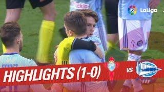 Resumen de Celta de Vigo vs Deportivo Alavés (1-0)