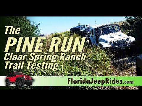 The Pine Run  - Testing trails for 2019 Jeepin with Judd.