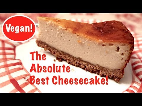 The Absolute Best Cheesecake (It's Vegan!)