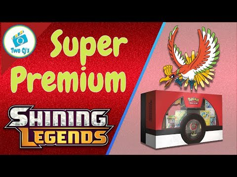 Awesome Pulls Ho Oh Super Premium Shining Legends Huge Box Opening