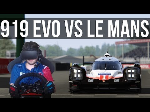 Can The Porsche 919 EVO Beat The Le Mans Lap Record?