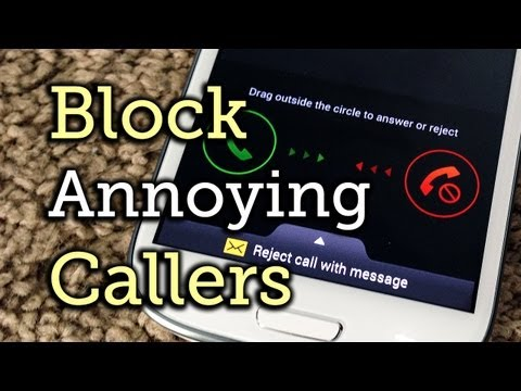 Block Annoying Callers on a Samsung Galaxy S3 or Other Android Phone [How-To]