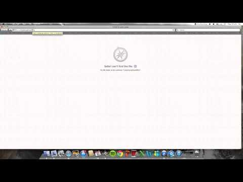 How to get your URL bar back on Apple Mac Safari