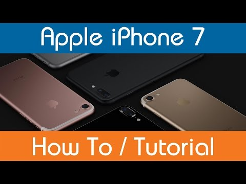How To Set A Passcode - iPhone 7