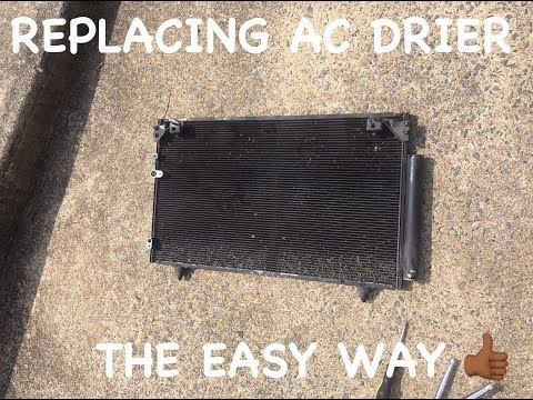 How To Replace Scion TC AC Condenser Drier
