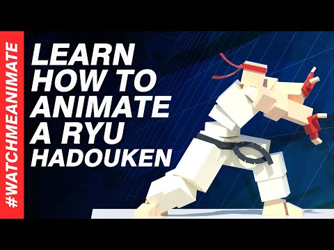 How to Animate a Ryu Hadouken from SFV - EP02