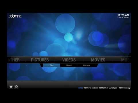 XBMC tip: Adding your network video files to XBMC's library