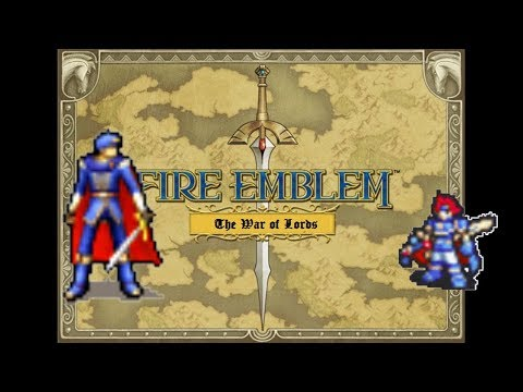 Marth Vs Roy (Fire Emblem) The War of Lords