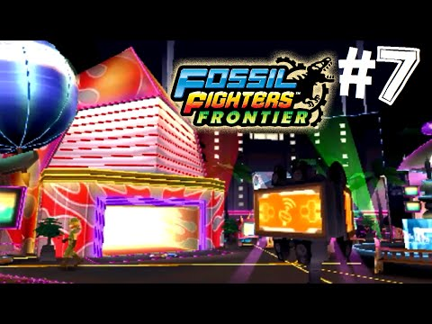Fossil Fighters: Frontier Nintendo 3DS GOLDRUSH CANYON! Walkthrough/Gameplay Part 7 English!