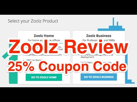 Zoolz Review and 25% Coupon Code Discount
