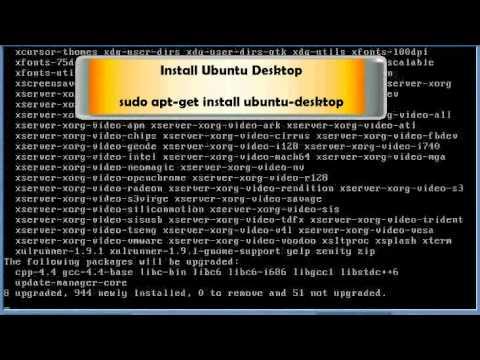 How to install gnome GUI desktop on ubuntu server