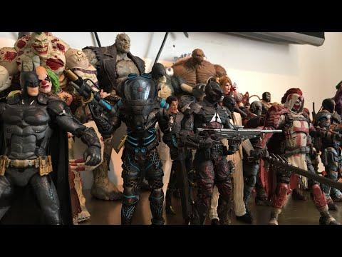 DC Direct/Collectibles Batman Arkham Origins, Asylum, City, And Knight Figure Collection