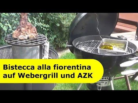 003 - Bistecca alla fiorentina auf Kugelgrill und AZK