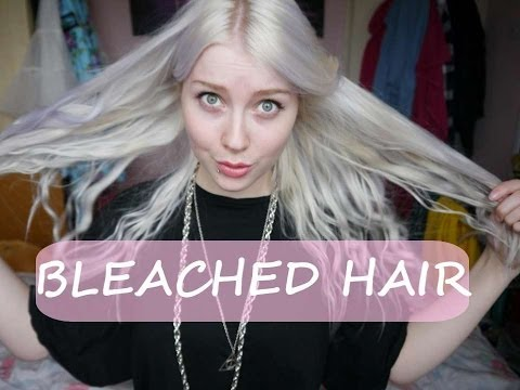 Looking after Bleached/ Damaged hair