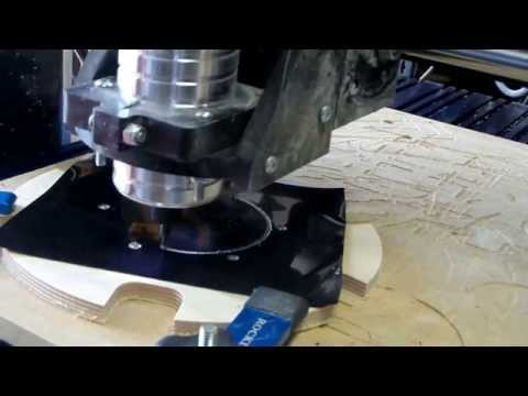 How to Make Mirror Cell Parts for a Renegade Telescope Using a CNC Router