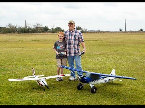 E-Flite Carbon-Z Cub / Quick Flight - 02/2015