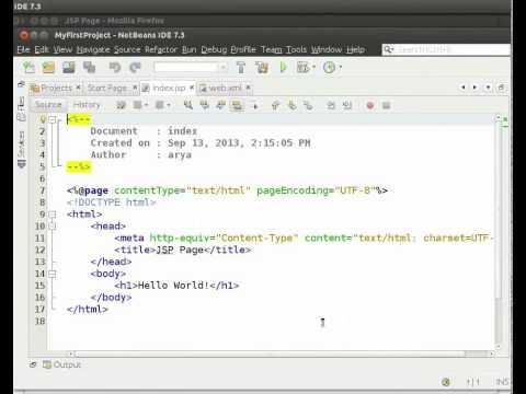 Creating a Java web project - Hindi