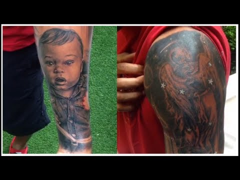 Thierry Henry's Tattoos