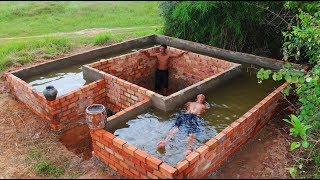Build Secret Home Under Swimming Pool Past 1