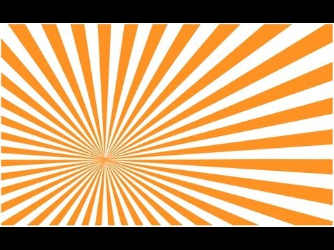 Illustrator tutorial: Create a Vector Sunburst Quickly and Easily