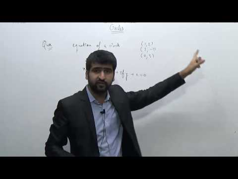 Circles-2.Equation of Circle passing through three points | Coordinate Geometry | JEE |